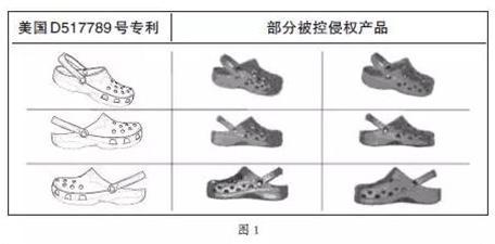 Crocs洞洞鞋专利设计图1