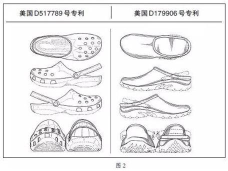Crocs洞洞鞋专利设计图2