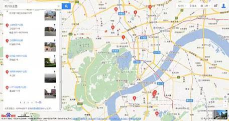 杭州创业园地图分布