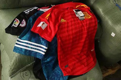 2018年世界杯的球衣