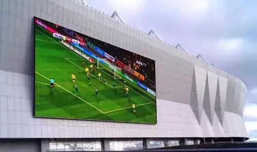 2018年俄罗斯世界杯的LED显示屏提供商也是来自中国