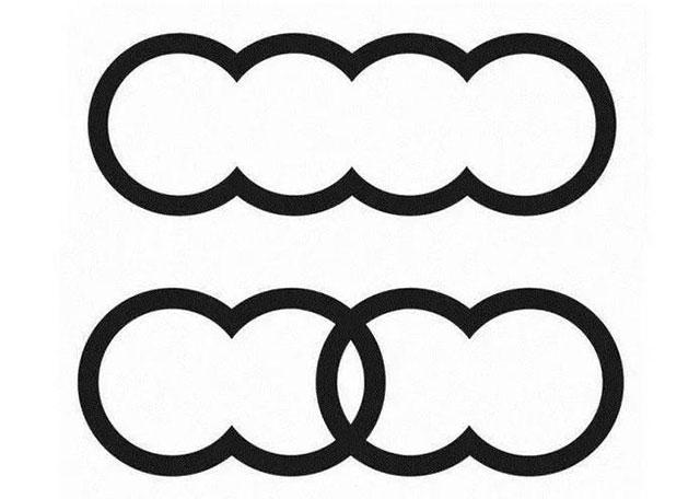 奥迪新注册logo